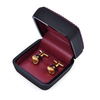 Free Shipping Knot Simple Design Cuff Link Jewelry Wedding Party Mens Novelty Cufflinks