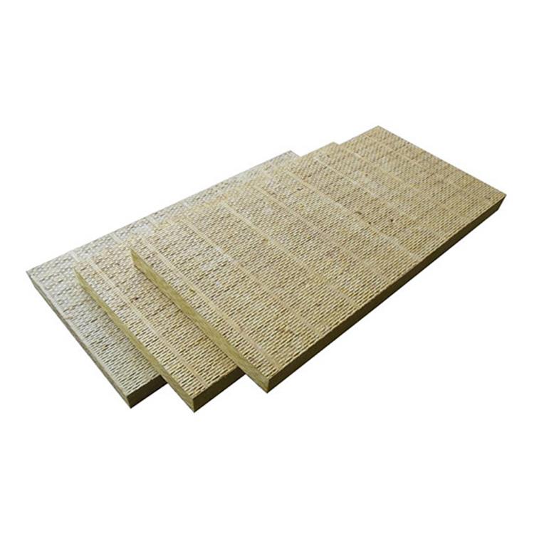 Fire ฉนวนกันความร้อนจำนวนมาก rockwool ความร้อนเสียง restist rock wool board อลูมิเนียมฟอยล์