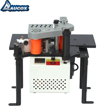 JBT102B woodworking double glue on MDF edge bander portable woodworking machine
