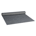 Grey carpet underlay backing cloth nonwoven fabric withanti slip dots