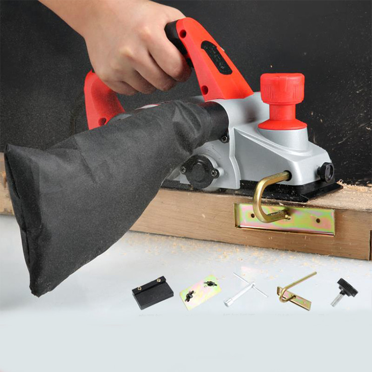 Hotsale Portable Woodworking Hand Thicknesser Cutting Portable Planer Machine Electric Planer Gauge Machine