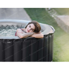Christmas Luxury 4 person Round outdoor indoor lazy spa hot tub massage bath tub portable inflatable spa hot tubs