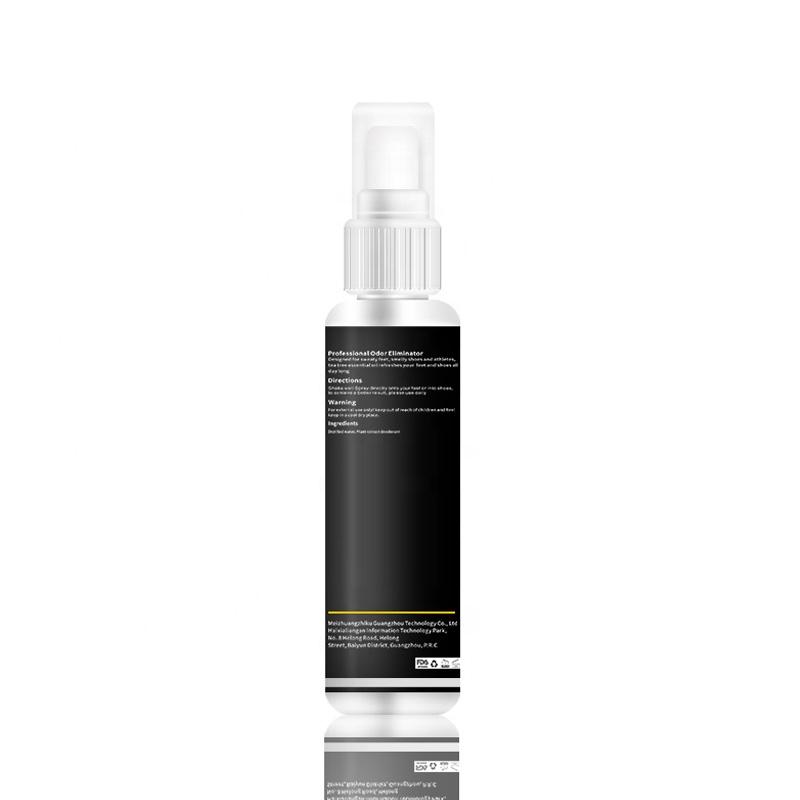 Natural Shoe Deodorizer Foot Deodorant Spray Odor Eliminator No Smelly Feet by Bacteria Antiperspirants Shoe Freshener Spray