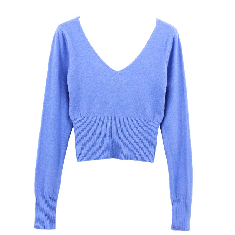 Super Soft Knitted Acrylic Ballet Sweater For Women