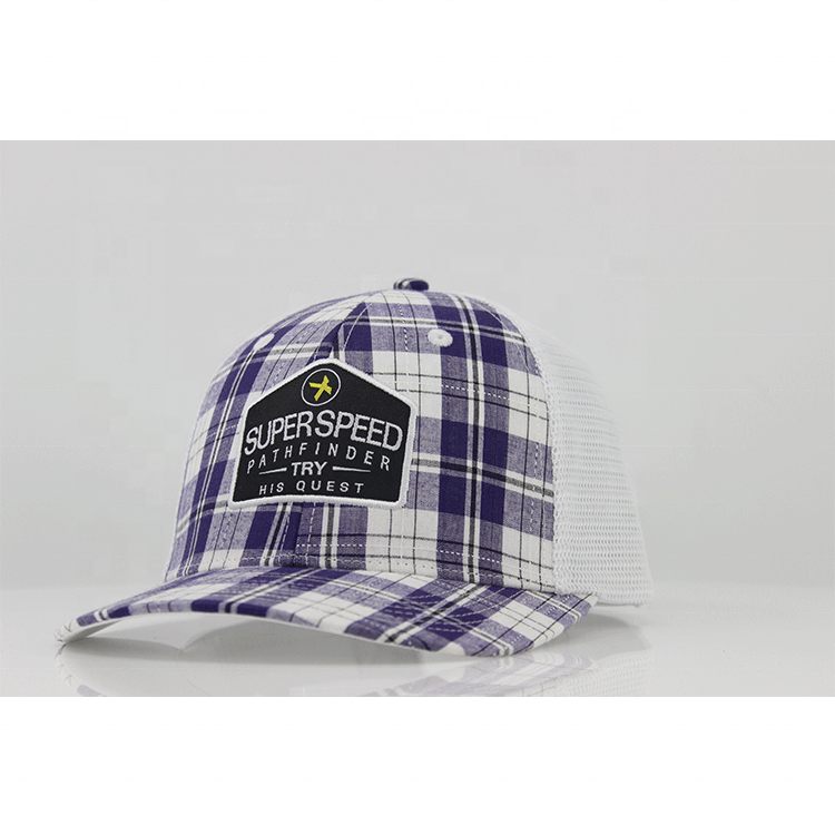 Wholesale Mens Mesh Trucker Hats Custom Adult Caps Cotton Truckers Caps