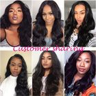 Hair Weave Virgin Peruvian Hair Cheap 9A 10A Grade Virgin Peruvian Deep Kinky Curly Human Hair Weave Packs Bundles With Lace Closure
