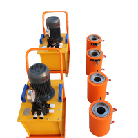 40cr and 45# steel material prestressed electric 100 ton hydraulic jacks