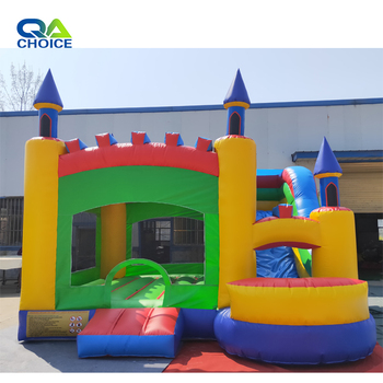 The 2019 Hot Selling Big Room Inflatable Jumping Castle Combo Inflatable Bouncer