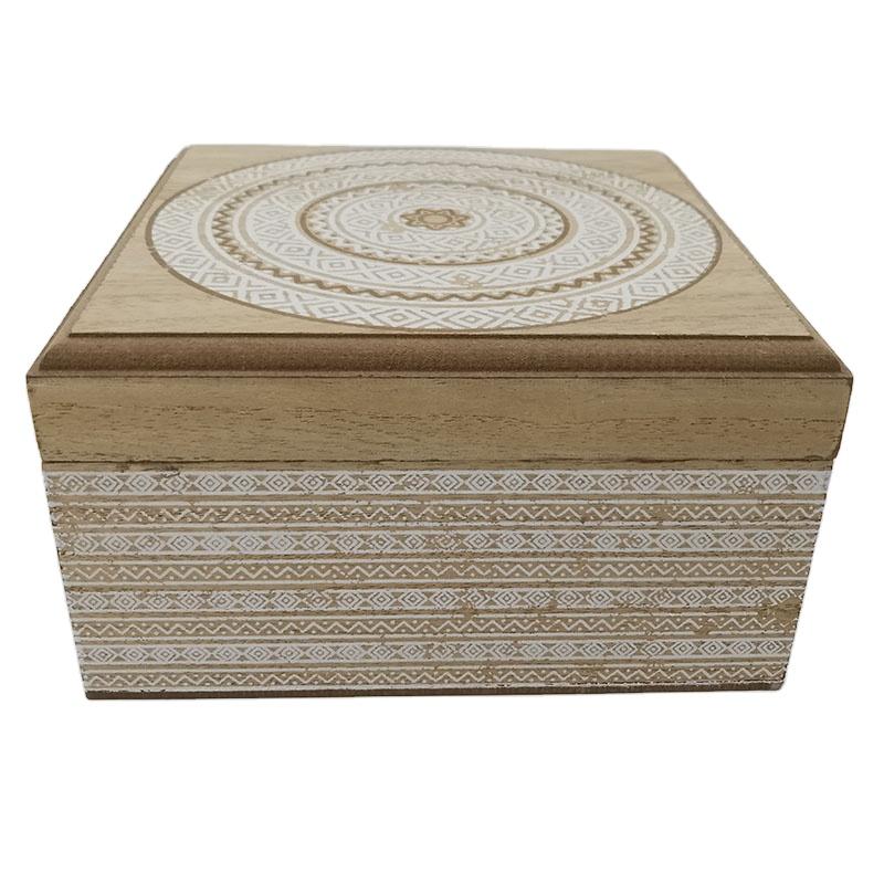 Range Crafts Cheap boxes custom square shape wood spice gift box