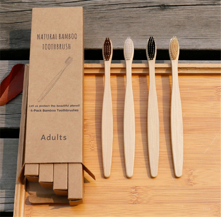 2019 new free sample soft  bamboo toothbrush manufacturer