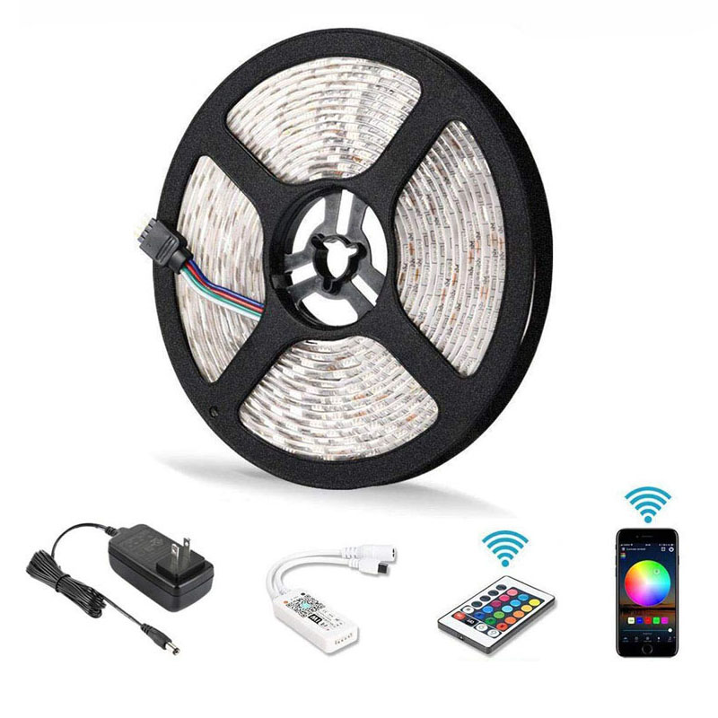 5M SMD led RGB strip 12V 5050 Waterproof led Strip Light