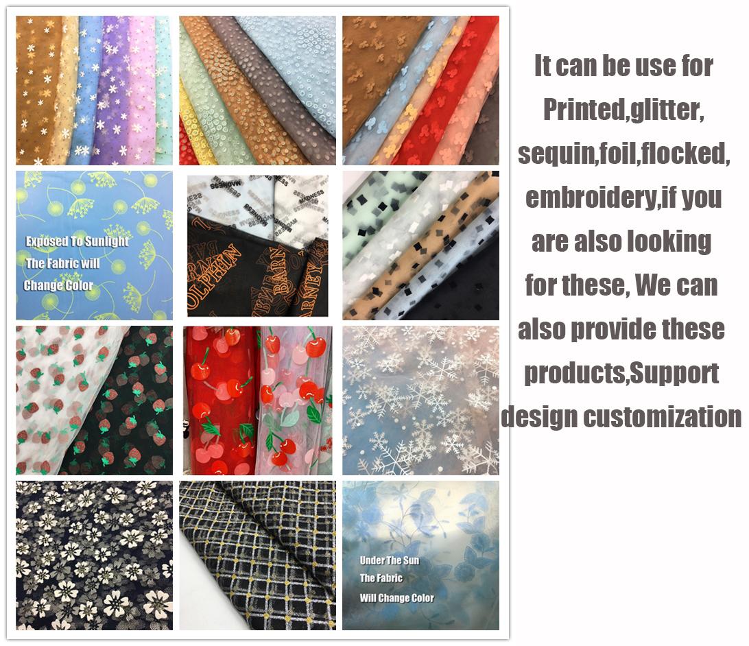 100% 20D Nylon Transparent Knit Net Mesh Soft White Wedding Gown Dress Veil Illusion Tulle Roll Tul Bordado Fabric