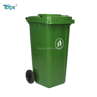 style selection garbage can 240 l plastic trash bin