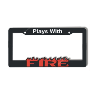 America standard custom stainless steel license plate frame