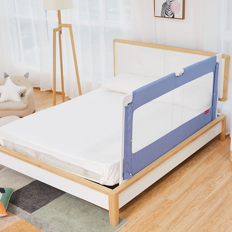 Adjustable Oxford Fabric Bedroom Children Furniture Toddler Safety Bed Rail For Baby