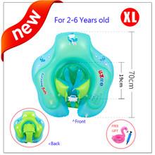 Расслабляющее безопасное плавающее кольцо ming для детей 6-30 месяцев, детский поплавок на талии, детские игрушки для бассейна, аксессуары для ...(Китай)