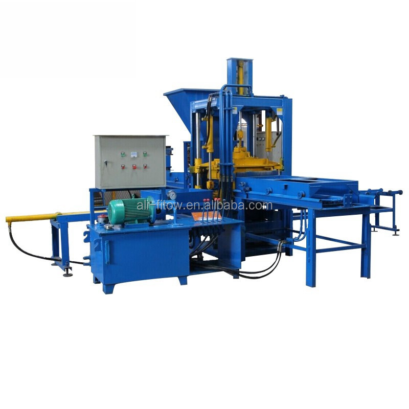 Qt3-20 china fabrikanten tiger stone hollow blok kleur straatstenen making machine met schimmel
