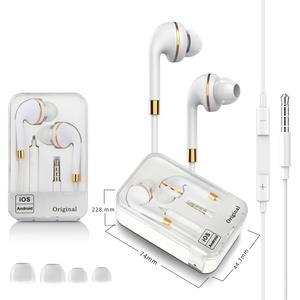 Hi-Fi 3.5mm Earbuds Portable Headphone Earphone Headsfree Headset Wired Earphone Sport In Ear Earphone