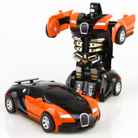 Hot selling transformed deformation robot changed kids baby children educational toy car