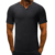 Wholesale fitness apparel Vintage Men's v-neck t shirt 100% cotton