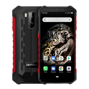 Newest design 5.5 inch Android 9.0 MTK6763 Octa Core 64-bit up to 2.0GHz Ulefone Armor X5 Rugged Phone