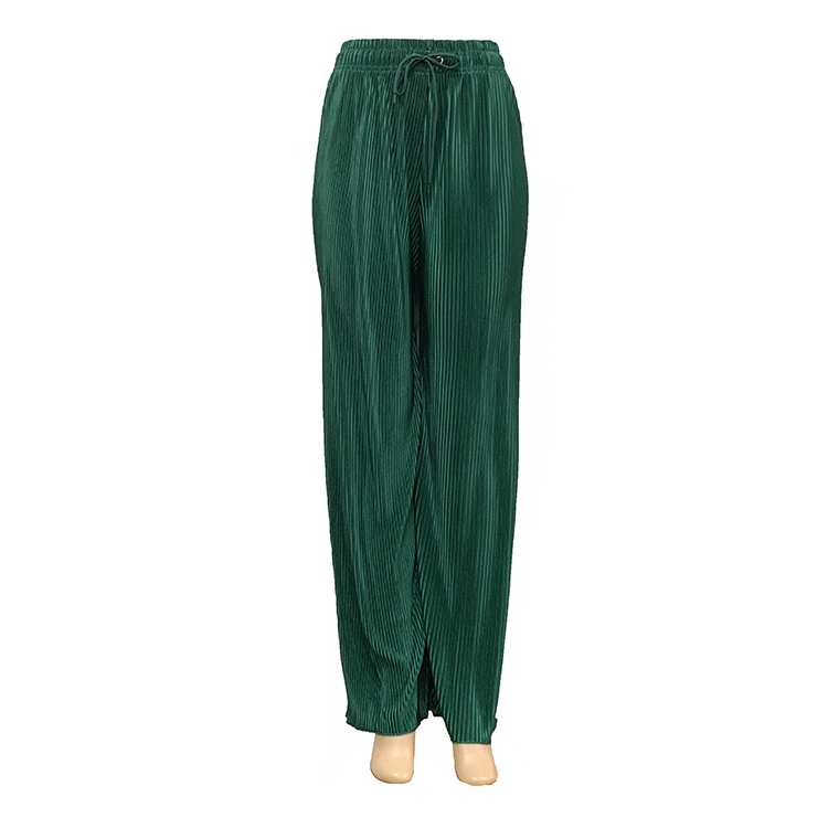 3442 #2019 новый стиль моды дамы свободные брюки широкие ноги брюки