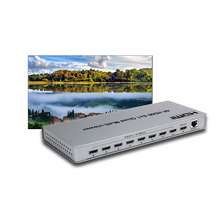 8X1 1080P HDMI Multi-viewer <span class=keywords><strong>PIP</strong></span> 4/8 Screen w/Naadloze Switcher Afstandsbediening