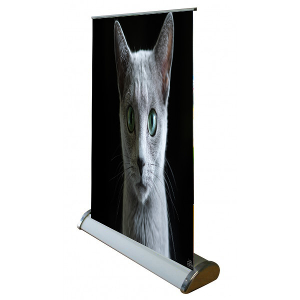 Recycle Display Hand Brede Basis Stand Flex Pull Basis Luxe Roll Up Banner Stand