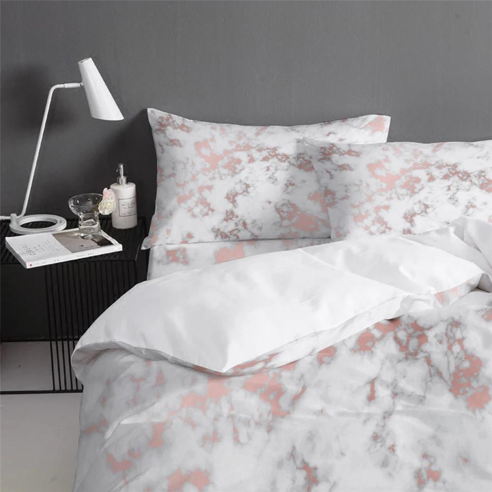 Neue design 100% polyester bettwäsche-sets plain farbe 4pcs bettwäsche set marken mit hoher qualität
