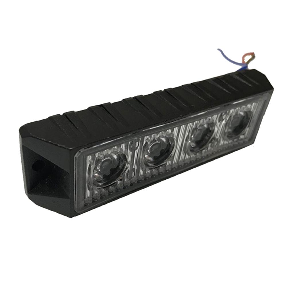 Professionelle Led Licht Hohe Qualität Strobe Warnung Led Grille Lichtbalken 12W Notfall Günstige Oberfläche Montieren Licht bars für Autos