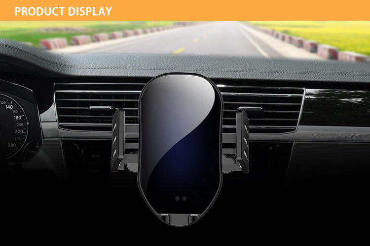 Wireless Car Charger Fast Charging 10W Car Phone Holder Car Wireless Charger Mobile Holder