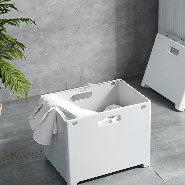 New Silicone Collapsible Foldable Silicone Plastic Collapsible Laundry Basket