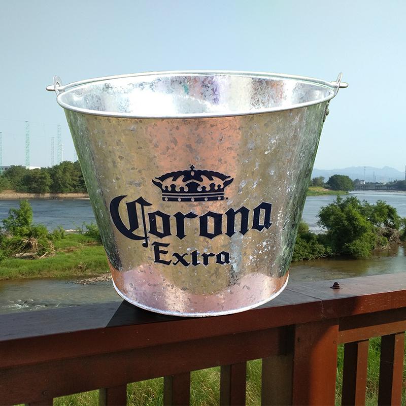 5L verzinktem eis eimer großhandel eis eimer für iced bier und getränke in bar
