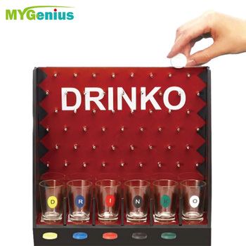 Popular Board Game Drink Shot Drinking Game For Fun to Vote ''Bomb Game'' to Get party Together Halloween board games family