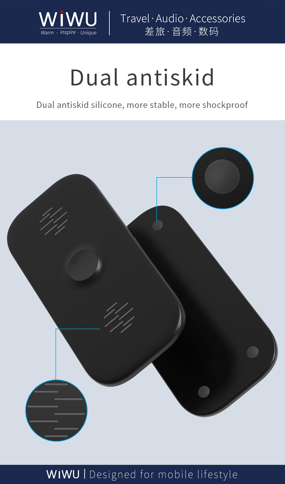 WIWU M2 二合一 无线充电器 (https://www.wiwu.net.cn/) 无线充电器 第5张
