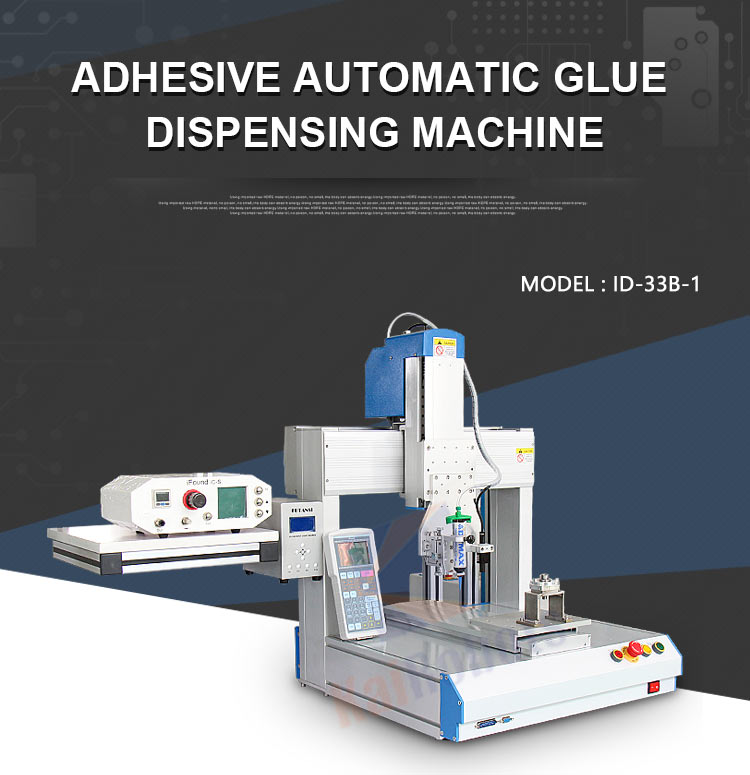 KaiRobots brand Factory semi- automatic handheld glue dispenser with silicone/UV glue