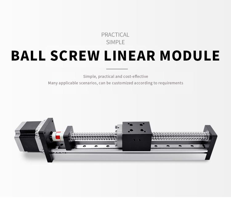 Gantry סוג 50-2000mm שבץ nema14-23 צעד ממונע כונן xyz לינארי שלב