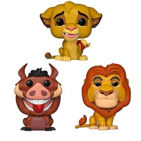 Funk Pop The Lion King Little simba MUFUSA PUMBAA Figure Collection Vinyl Doll Model Toys NEW wholesale