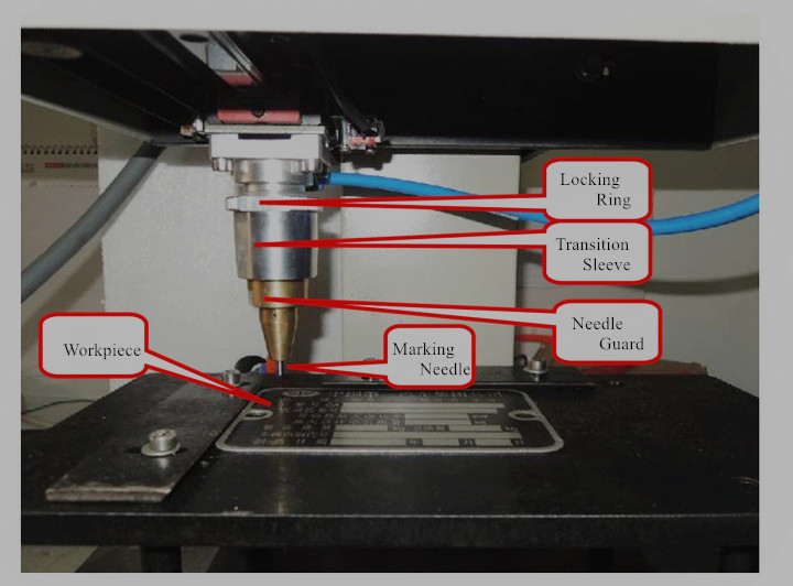 BX-90*160 pneumatic scribe marking machine