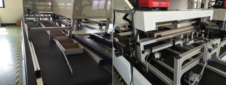 MSFB-650 Volle Automatische Buch-form Starre Box Montage Maschine