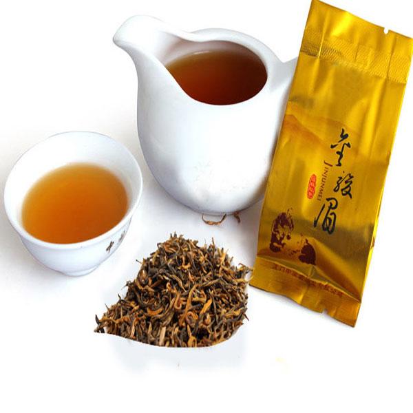 Good quality natural slimming organic loose jinjunmei black tea, foil bags packaging customs logo black tea - 4uTea | 4uTea.com