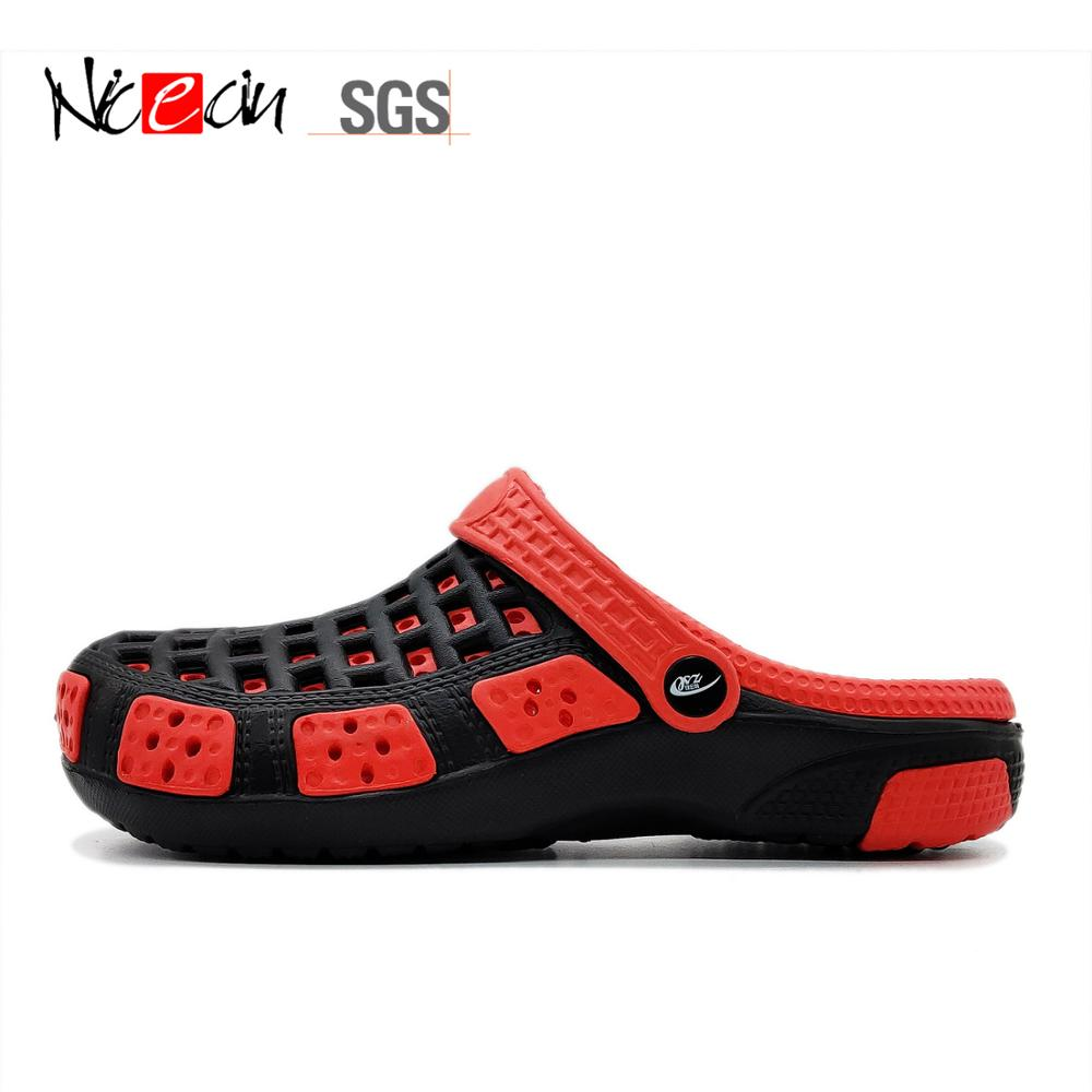 Hot Sale Men EVA Garden shoes with Hole Beach clogs