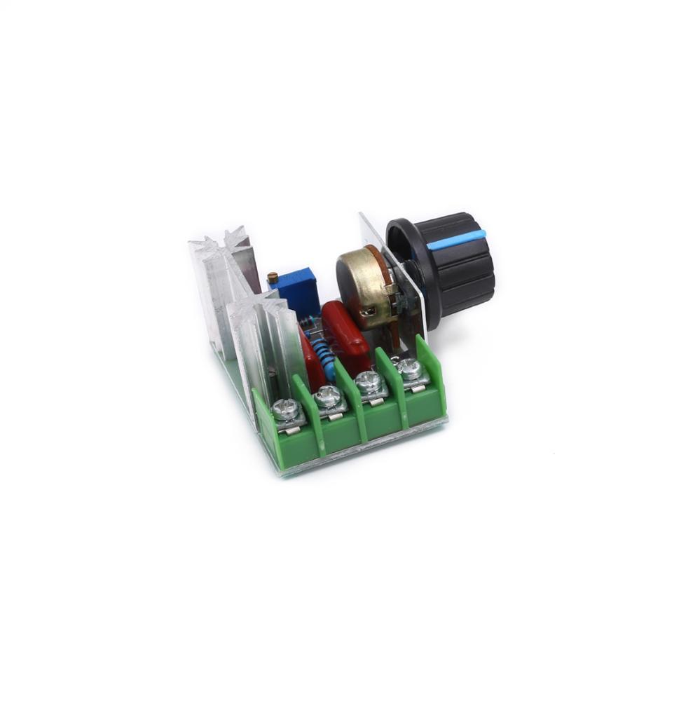 2000W import thyristor AC Electronic voltage regulator high power motor governor dimmer