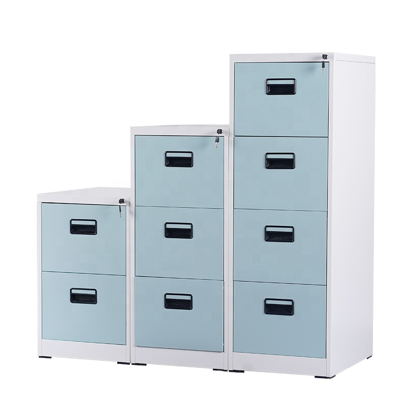 Luoyang hot selling 2/3/4/5 many small drawers steel filing cabinet specifications