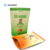 Biodegradable Resealable Plastic Stand Up Zip Lock Food Bags for Chip Snack Popcorn