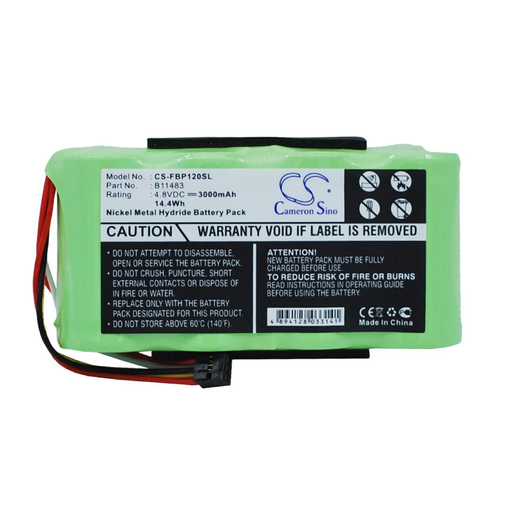 <strong>Battery</strong> Replacement for fluke Fluke 123 ( Firmware below <strong>V2</strong>. Fluke 123S ( Firmware below <strong>V2</strong> B11483 BP120MH