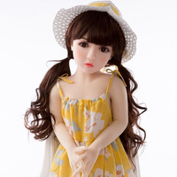 100 CM Realistic Kids Size Full Body Oral / Anus / Vagina Sex 100 CM Flat Chest Sex Doll