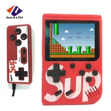 Hexchi Hot Selling Mini Console Hoge Kwaliteit <span class=keywords><strong>Video</strong></span> Game Sup 400 In 1 Handheld Retro Consola Retro Sup Retro Game console