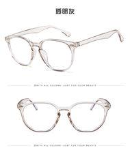 Оптические очки, оправа, анти-синий светильник, очки для компьютера, очки, Женская оправа, круглые прозрачные линзы, очки ботаника(Китай)
