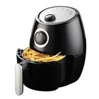 2.0L Kitchen Home Commercial Round Electric Air Deep Fryer Without Oil Hot Air Fryer